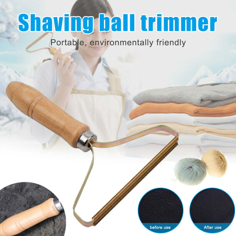 Portable Lint Remover Clothes Fuzz Fabric Shaver Fabrics Lint Remover Hair Removal Manual Roller Restores Your Clothes Tool