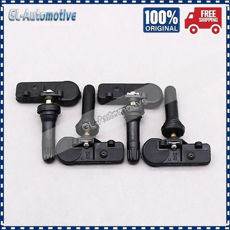 Set of (4) TPMS 68241067AB Tire Pressure Sensor for Jeep Wrangler Grand Cherokee Dodge 56029398AB 68241067AA 68406837AA