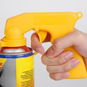 Image 3 - Spray Adapter Paint Care Aerosol Spray Gun Handle with Full Grip Trigger Locking Collar Car Maintenance