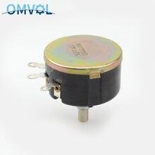 Potenciômetro giratório 1 k 2k2 4k7 10 k 22k 47k wx112 wx050 5 w do fio giratório do eixo redondo do watt 6mm