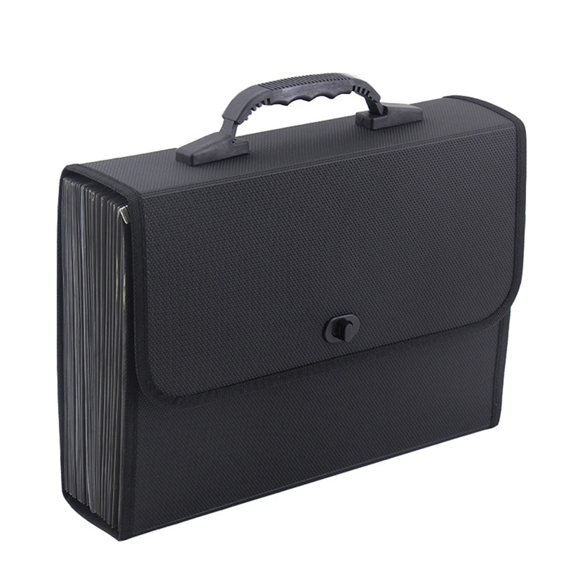 26 Layers Pockets Expanding File Folder Organizer Briefcase Waterproof Business Filing Box With Handle Office Supply