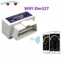 Nieuwe Super Mini Wifi ELM327 Elm 327 Wifi V1.5 OBD2 Ii Auto Diagnostic Tool Obd 2 Scanner Interface Ondersteunt Android/Ios/Windows