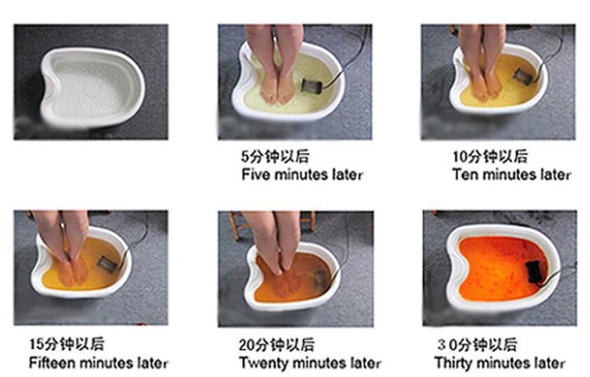 Image 4 - 1Set Detox Machine Ion Cleanse Ionic Detox Foot Bath Aqua Cell Spa Machine Footbath Massage Detox Foot Bath Arrays Aqua Spa-in Massage & Relaxation from Beauty & Health