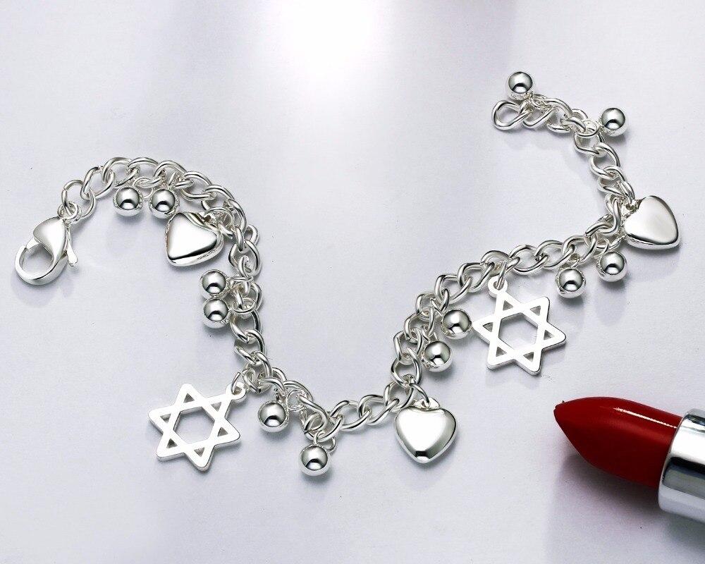 star pendant diy bracelet