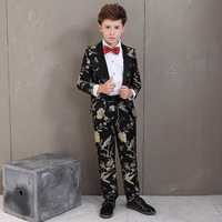 Boys Suits Formal Children Costume For Boy Wedding Suit Kids Blazer Summer Child Tuxedo Costume For Kids