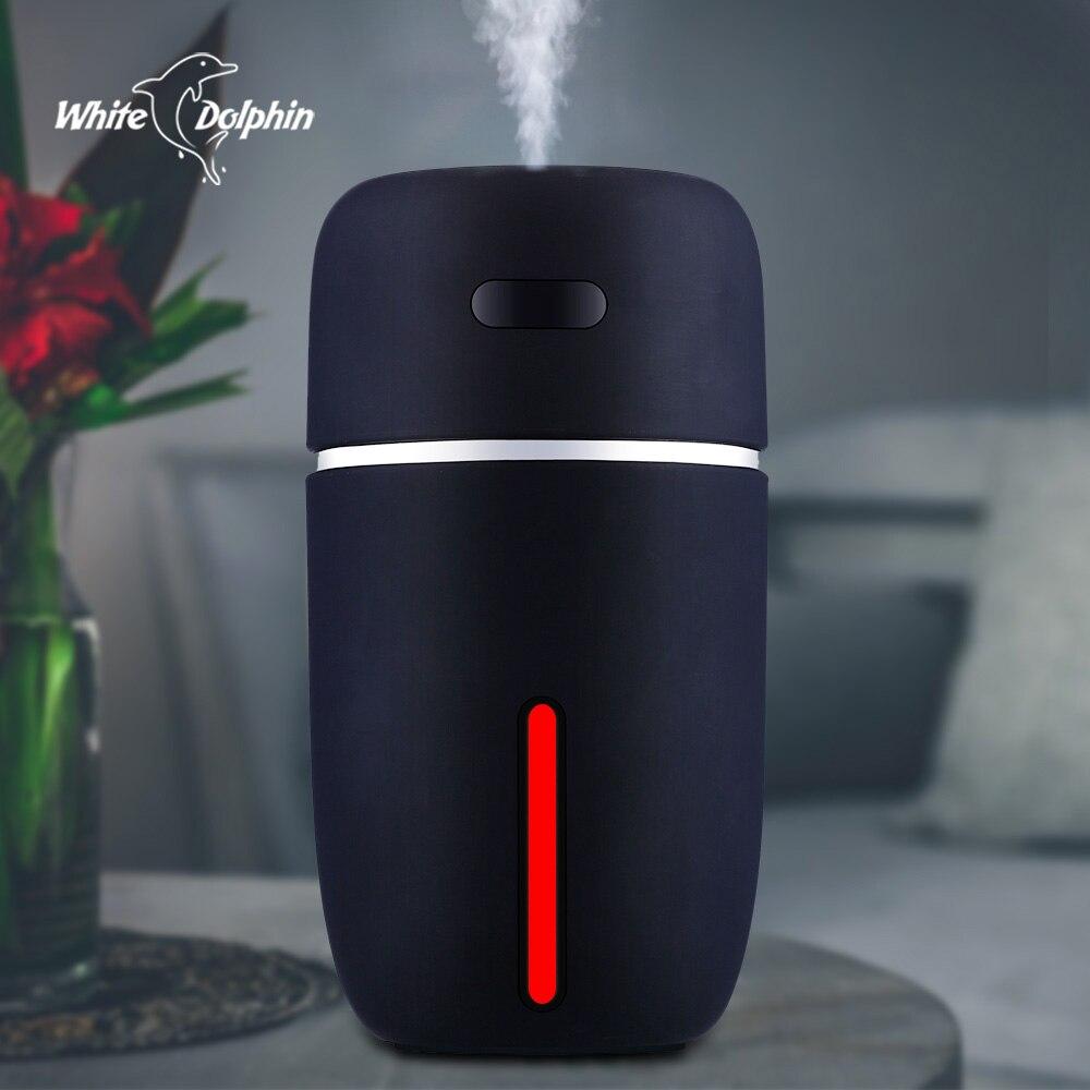휴대용 led 공기 가습기 에센셜 오일 기관총 미니 usb 공기 가습기 정수기 자동차 초음파 아로마 디퓨저 usb