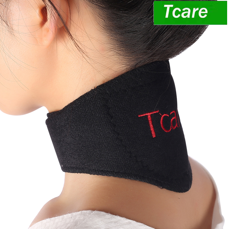 1 Pcs Tcare Tourmaline Magnetic Therapy Neck Massager Cervical Vertebra Protection Spontaneous Heating Belt Body Massager
