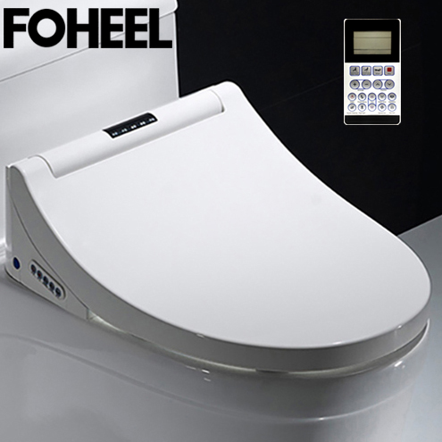 FOHEEL Intelligent Toilet Seat Toilet Seat Electric Bidet Cover Led Light Wc Smart Bidet Heating Sits Smart Toilet Sea