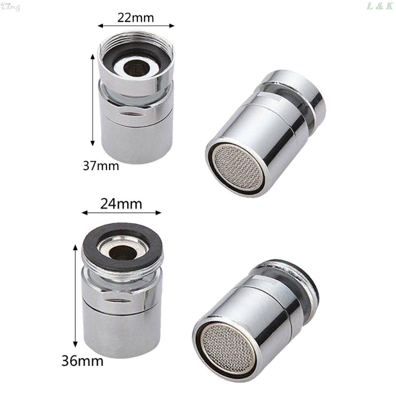 Brass Water Saving Tap Faucet Aerator Sprayer Attachment With 360-Degree Swivel L29k