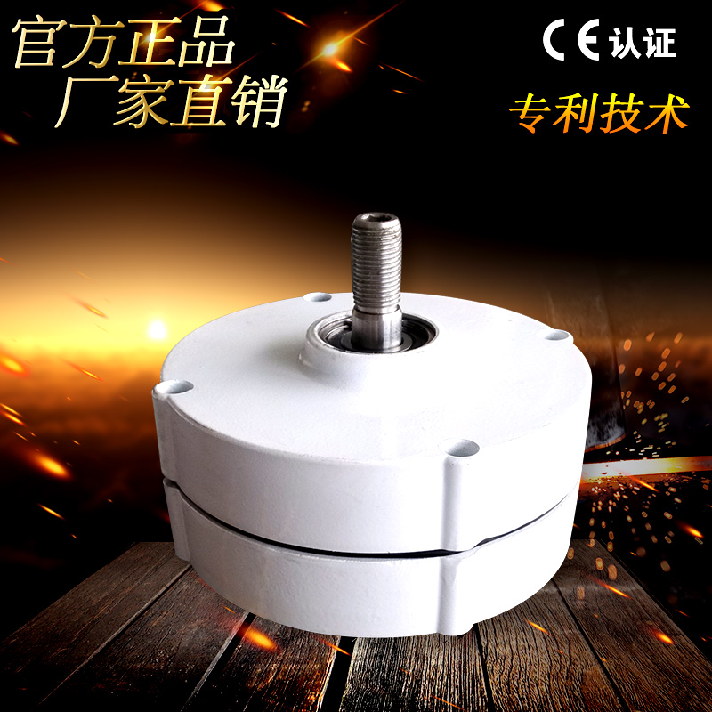 Small wind hydro phase AC permanent magnet generator 100W 200W 300W 400W 12V 24V can be customized