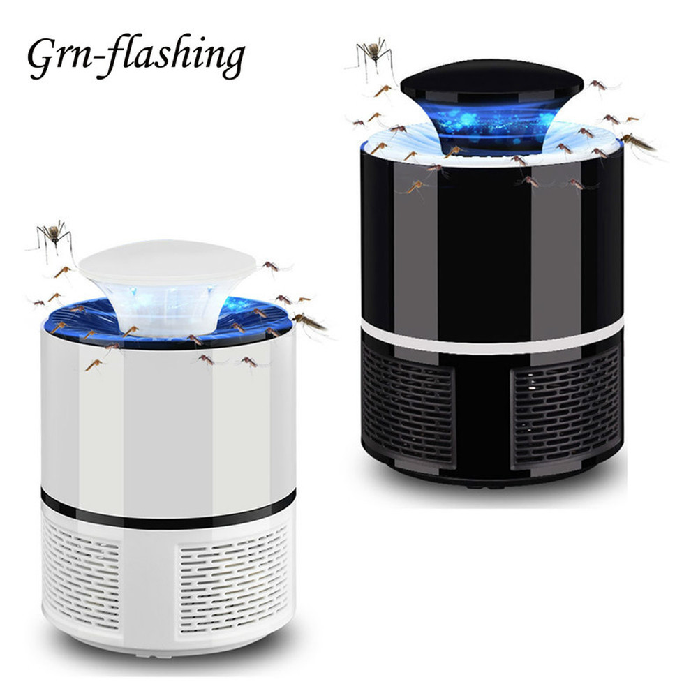5V USB Home Mosquito Killer Lamp Indoor Electronic Mosquito Repellent Killer Anti Insect Killer Bug Zapper Trap UV Light Lamp image