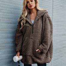 Women Winter Jacket New Sweaters Loose Fur Outwear Coat Ladies Pregnant Clothes
