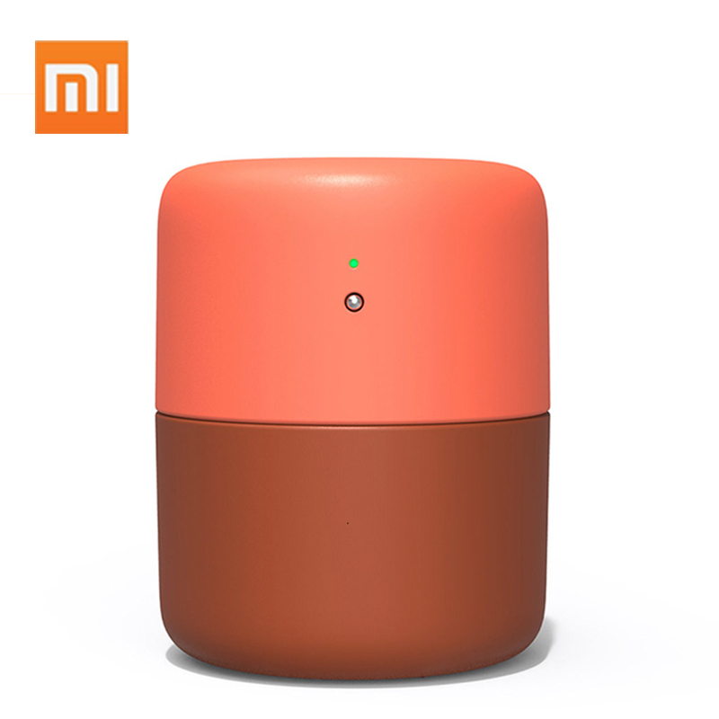 New XIAOMI MIJIA VH Desktop Humidifier Air Dampener Aromatherapy Diffuser Essential Oil Ultrasonic Warm Mist Quiet Night Light