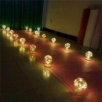 LED lamp Christmas decoration lamp new wedding holiday props lamp T Taiwan Dragon Ball lamp row lights Lantern road lead