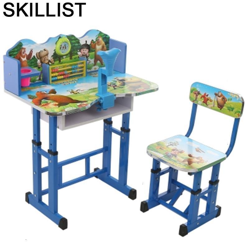 Cocuk Masasi Kindertisch For Tavolo Per Bambini Children And Chair Adjustable Kinder Enfant Mesa Infantil Study Kids Table