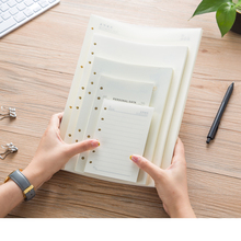 Loose Leaf Inner Page A6A7A5B5A4 Line Blank 6Holes 9Holes 4h