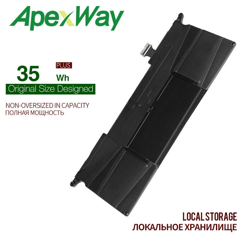 ApexWay 7.6V 35WH laptop <font><b>Battery</b></font> A1370 for Apple <font><b>MacBook</b></font> <font><b>Air</b></font> <font><b>11</b></font>