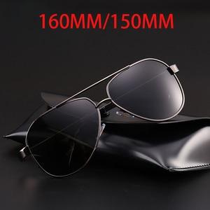 Image 2 - Vazrobe Mens Polarized Sunglasses 160mm 150mm Oversized Sun Glasses for Man Black Anti Reflection Coating Tint Driving Fishing