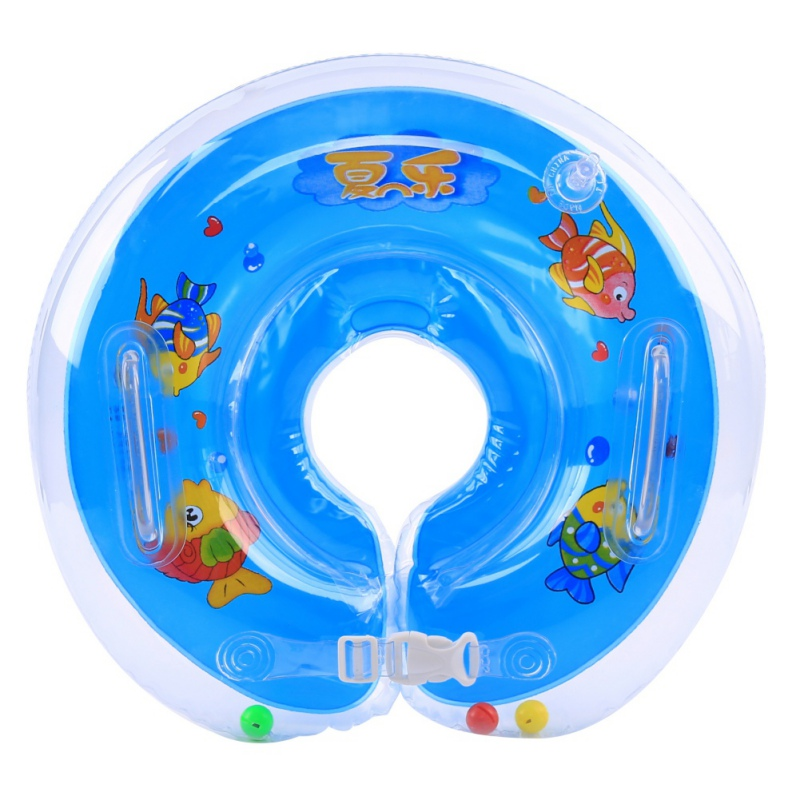 Baby Accessories Neck Float Swim Anti - Back Safety Neck Ring Baby Swimming Infant Circle For Bathing Inflatable  Good Quality