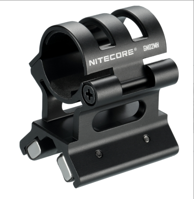 <font><b>NITECORE</b></font> GM02MH Quick Detach Magnetic Barrel Mount for Flashlights Suitable for <font><b>NITECORE</b></font> <font><b>SRT7GT</b></font> MH40GTR MH12GTS P12GTS image