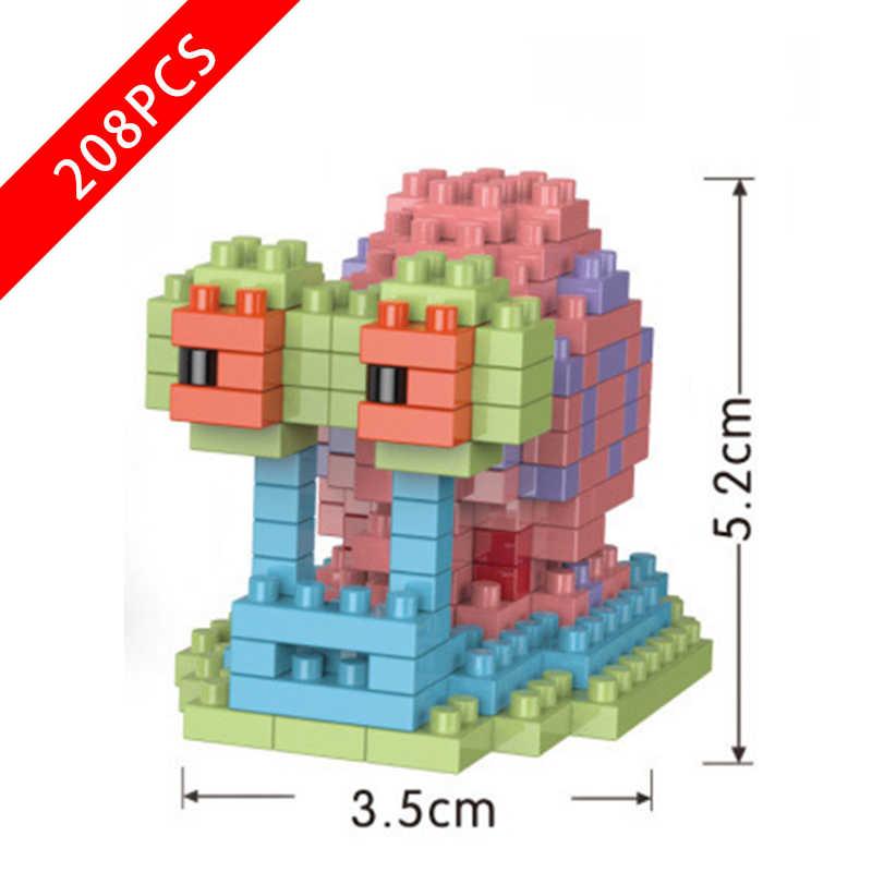 جديد سبونجبوب سلسلة لعب Caveolae متوافق lepinngly سبونجبوب سلسلة 223 ألعاب مكعبات البناء للأطفال هدية عيد ميلاد