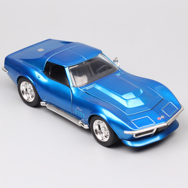 Jada 1/24 масштаб классика 1969 Chevrolet Corvette Stingray ZL1 chevy vette металлические Литые и игрушечные автомобили модели автомобилей коллекции