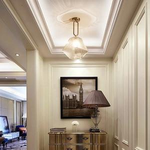 Image 4 - הגעה חדשה LED תליון אורות מנורת מודרני בית תאורה מקורה מתקן זהב אור AC110 220V קפה חדר תליית מנורת בר אור