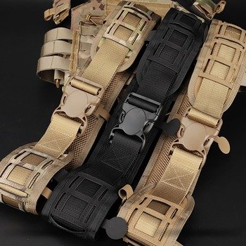 Tactical Waist Belt Water Resistant Adjustable Training Waistband Support For Molle System 2