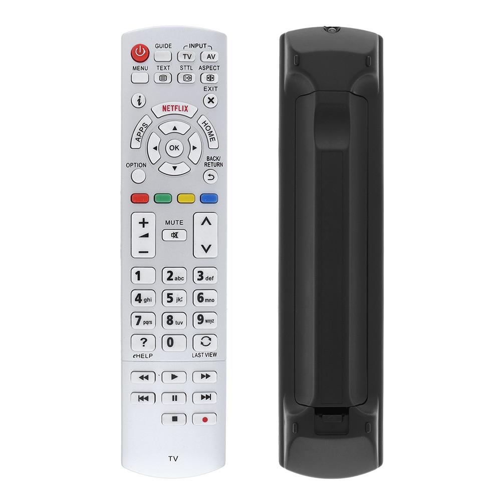 New Universal White 3D TV Remote Control Replacement Fit for Panasonic N2QAYB001010 N2QAYB000842 N2QAYB000840