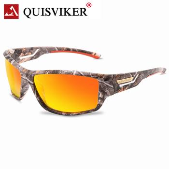 QUISVIKER Brand New Sport okulary wędkarskie Outdoor okulary z polaryzacją gogle okulary mężczyźni kobiety Fish Eyewear tanie i dobre opinie CN (pochodzenie) fishing glasses for men and women Spolaryzowane okulary