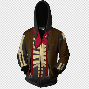 Image 2 - Funny CoCo Migul Grandpa Cosplay Hoodies Skull Hector Rivera Halloween Costumes Zipper Hoodie Sweatshirt For Men Women
