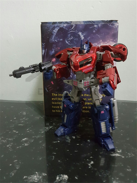 COMIC CLUB Transformation ITF OVERSIZE WCF OP Commander red white Action Figure Robot Toys