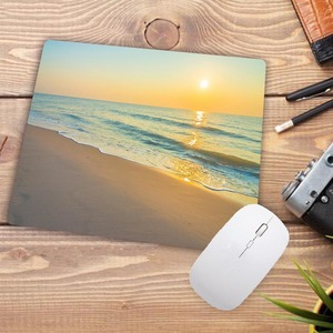 Image 2 - Big Promotion Print Rubber Mousepads for Beach and starfish Mice Mat DIY Design Computer Gaming Mouse Pad 22X18CM