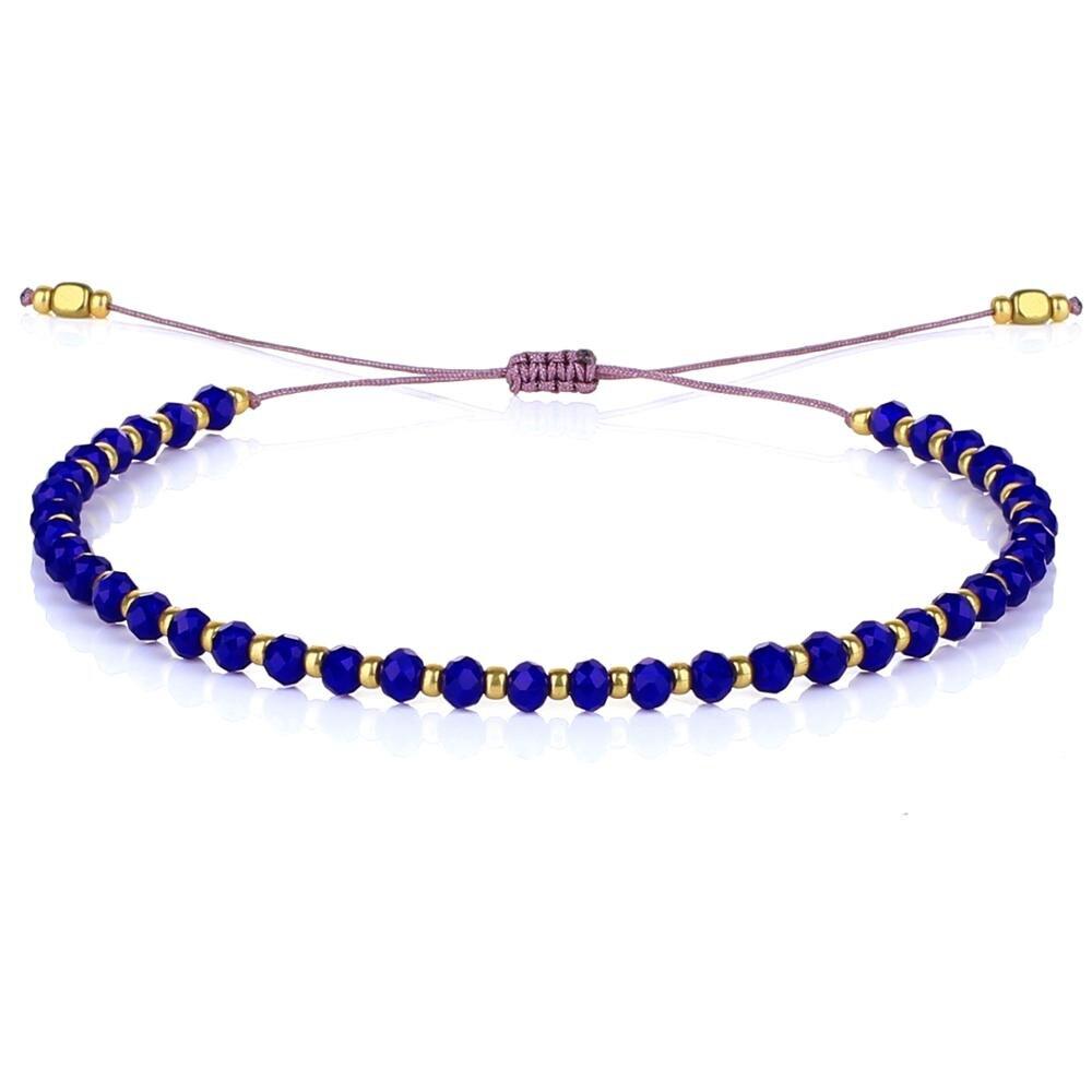 Kelitch – Bracelets perlés en Pierre Naturelle pour femmes, bijoux en acier inoxydable, bijoux pour filles