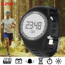 Montre bracelet numérique de sport en plein air, pour la course à pied, pour hommes et femmes, étanche, alarme de 50M, multifonctionnelle, EZON L008