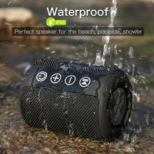 doss e go ll outdoor bluetooth speaker portable wireless speakers ipx6 waterproof sound box with microphone aux tf for phone pc Wireless Sound System HD bluetooth speaker Bass Sound IPX6 Waterproof Wireless Portable Stereo Speaker for Home Outdoor