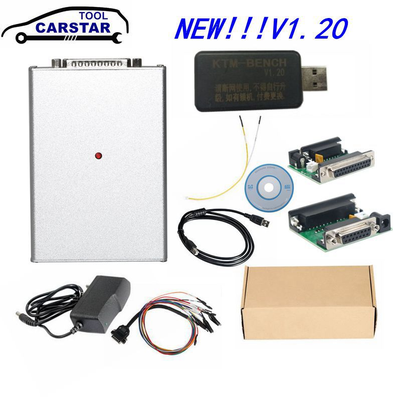 High Quality ktm bench NEW 1 20 Version ECU Programmer Via Boot Bench V1 20 KTMBENCH Flash EEPROM ECU Read Write