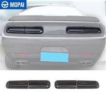 Para coches MOPAI pegatinas para Challenger 2015 + coche luz para faro trasero Decoración Para Dodg Challenger 2015 + Accesorios Exterior