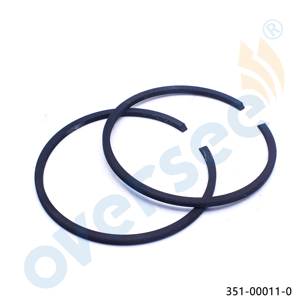 351-00011-0 Piston Ring STD 55mm SET For Tohatsu Outboard Motor Parts 5HP 15HP 9.9HP M NS9.9 15  2 Stroke 351-00011 369-00011
