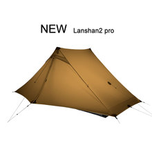 3F UL GEAR Lanshan 2 Pro 2 Person 3-4 Season Outdoor Ultralight Camping Tent  Professional 20D Nylon Both Sides Silicon Tent