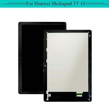 1pc For Huawei mediapad t5 10 AGS2-L09 full LCD Display Assembly with Touch Screen Glass Digitizer Complete with free shipping
