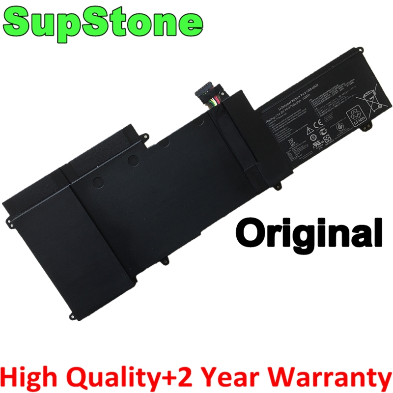 SupStone Genuine Original C42-UX51 Laptop Battery For Asus ZenBook U500 U500V U500VZ UX51 UX51V UX51VZ 70WH Battery
