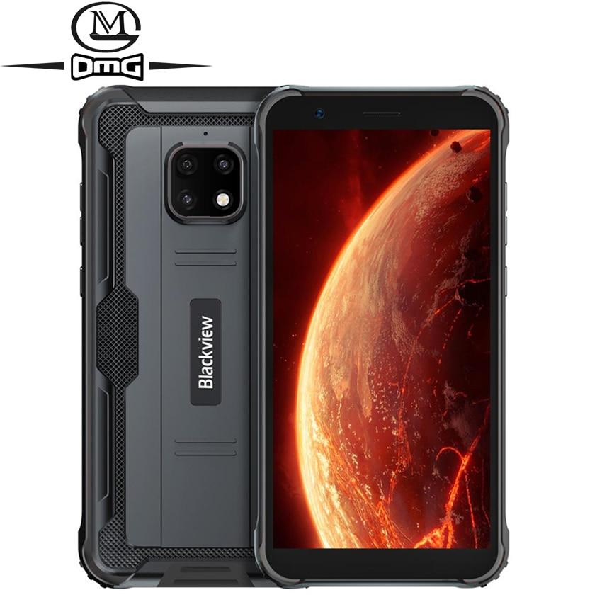 Blackview BV4900 NFC Android 10 Rugged Waterproof Smartphone 4G 3GB + 32GB IP68 shockproof Mobile Phone 5580mAh 5.7