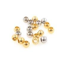 Большой отверстие круглый бусина изоляция поделки ювелирные изделия браслет ожерелье кулон изготовление свободные бусина аксессуары