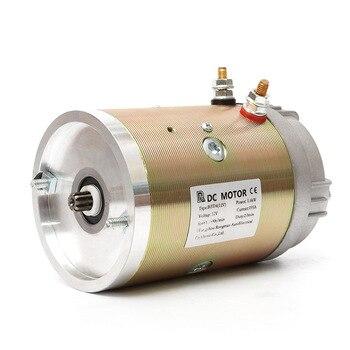 12V 1.6kw 24V 2.5kw DC Motor Power Unit Copper Wire Movement The Brush Electrical 12v, 24v and 48v Micro-motor