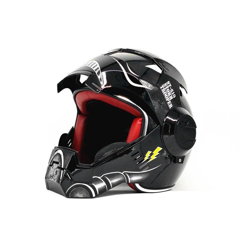 MASEI fer homme rétro classique simple Len rabattable Moto rcycle casque casco moto Scooter casques capacité ECE approuvé Star Wars 11   AliExpress