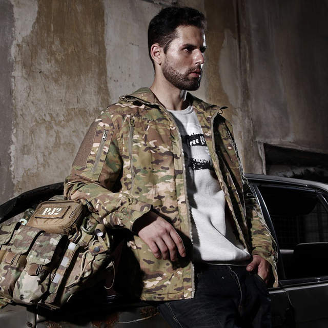 Army Military Jacket Equipment Airsoft Paintball Hunting Clothes Combat Tactical Jacket Homme Men 5