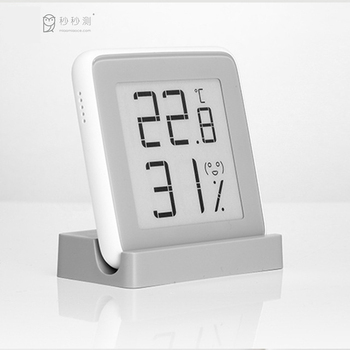 MiaoMiaoCe E-Link INK Screen Display Digital Moisture Meter High-Precision Thermometer Temperature Humidity Sensor