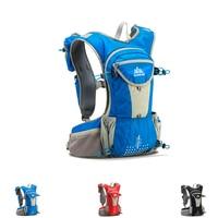 Breathable Running Backpack Hiking Cycling Lightweight Sport Shoulder Bag With Bottle Holder Water Sackback Rucksack