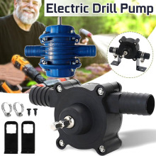 Onnfang Self-Priming Pump Micro Hand Electric Drill Motor Water Pump  Heavy Duty  Centrifugal Pumps For Home Garden